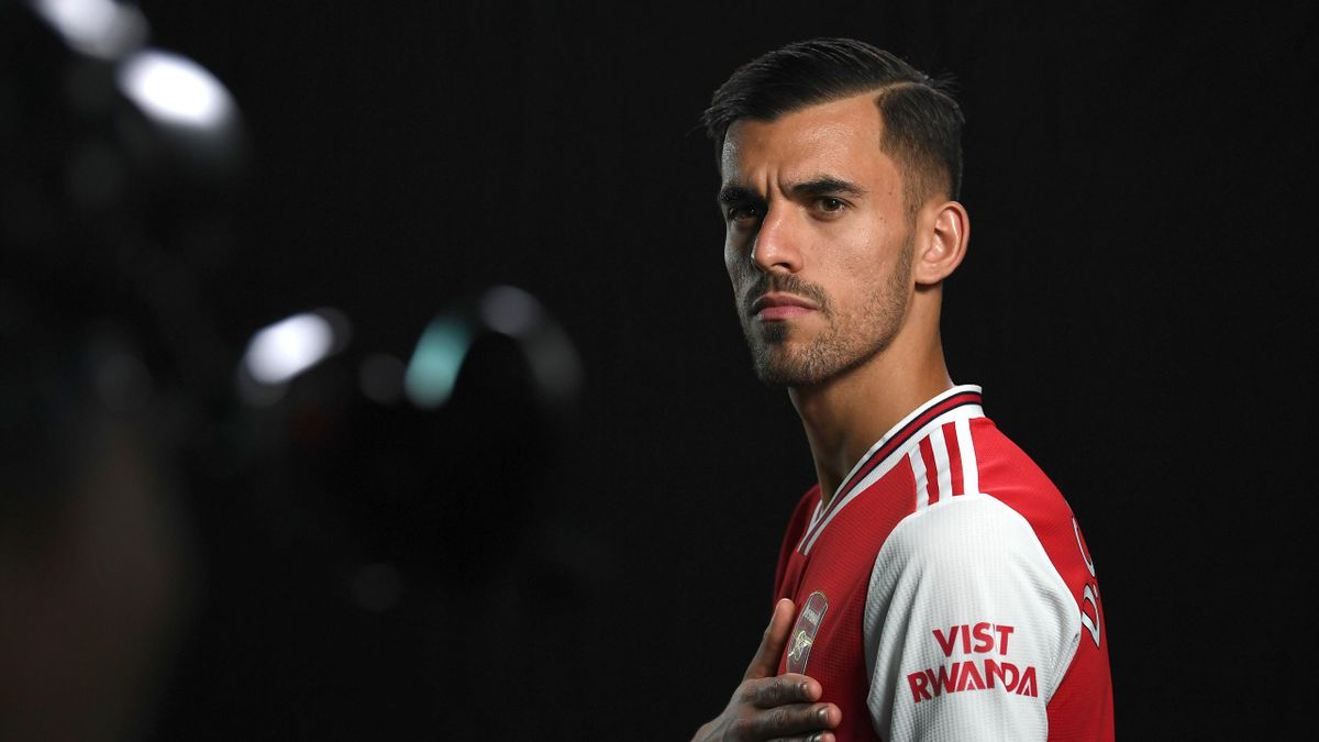 Dani Ceballos of Arsenal during the Arsenal Media Day at London Colney on August 07, 2019 in St Albans, England.