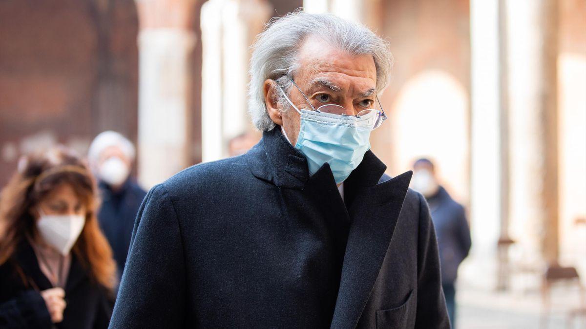 Massimo Moratti, febbraio 2021 (Getty Images)