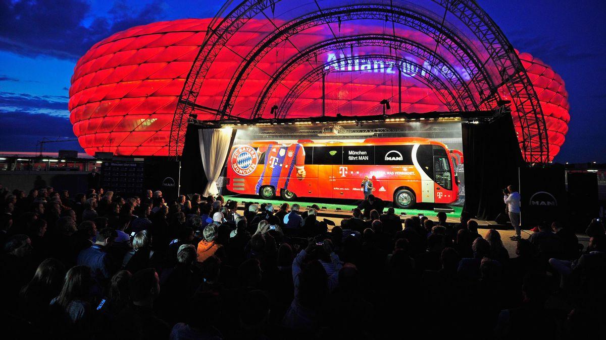 Bayern Munich unveil their new coach