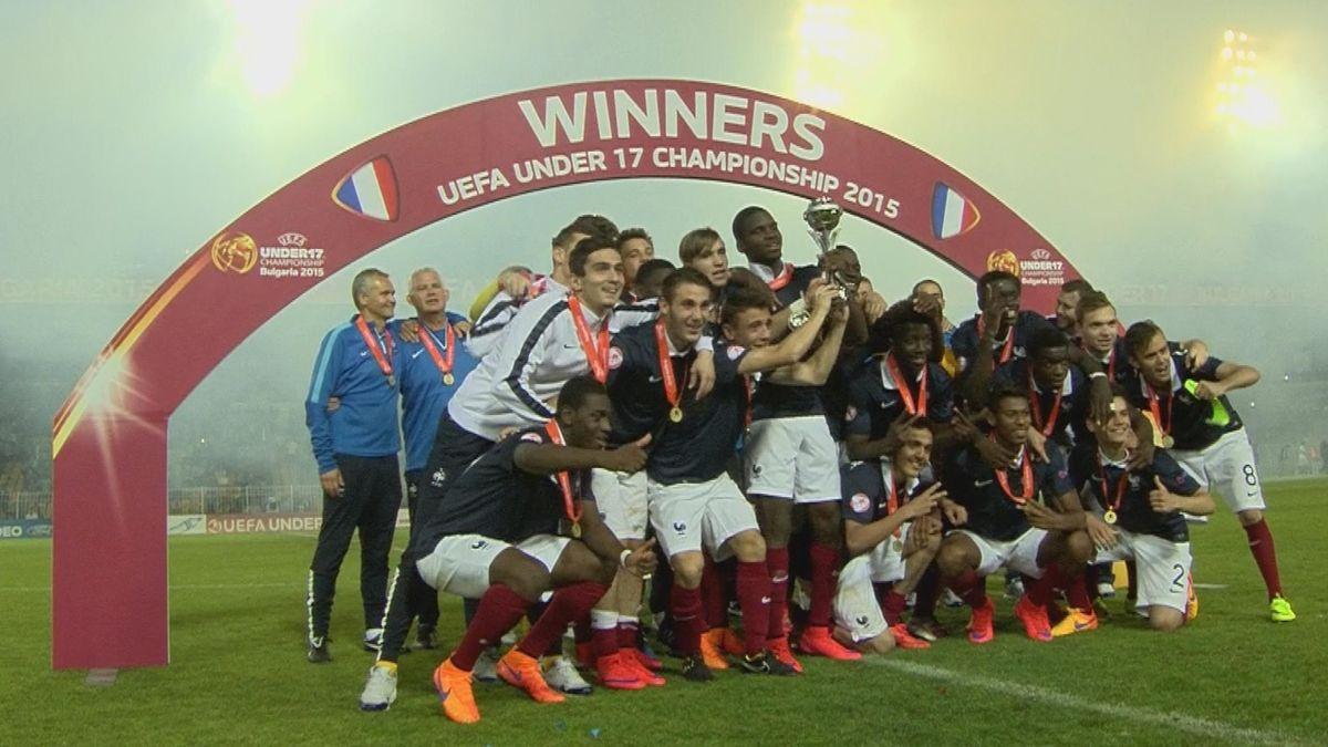 U17 Euro : Hlts France - Germany