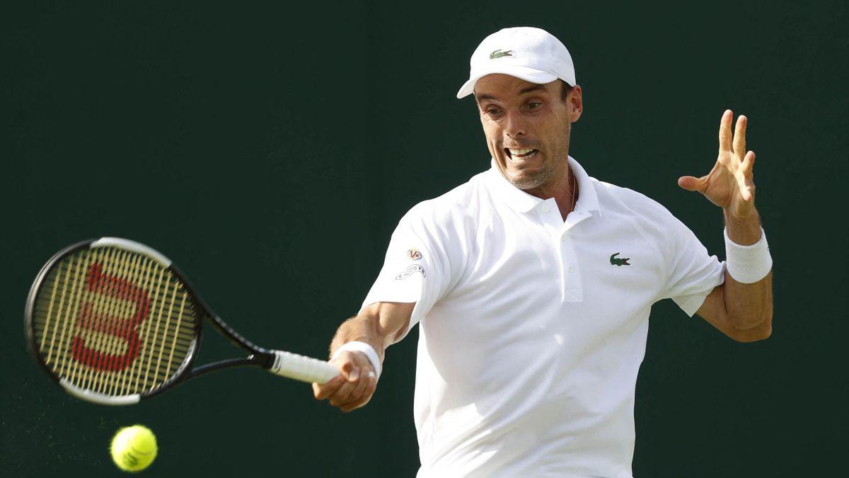 Roberto Bautista Agut en Wimbledon 2021