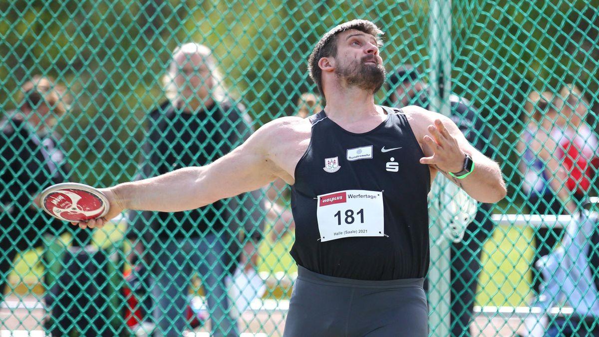 David Wrobel knackte in Halle die Olympia-Norm für Tokio