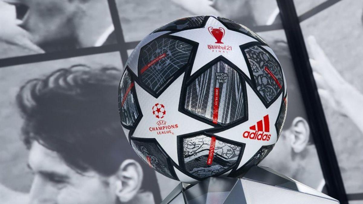 Adidas: ecco il pallone di Champions della finale 2021