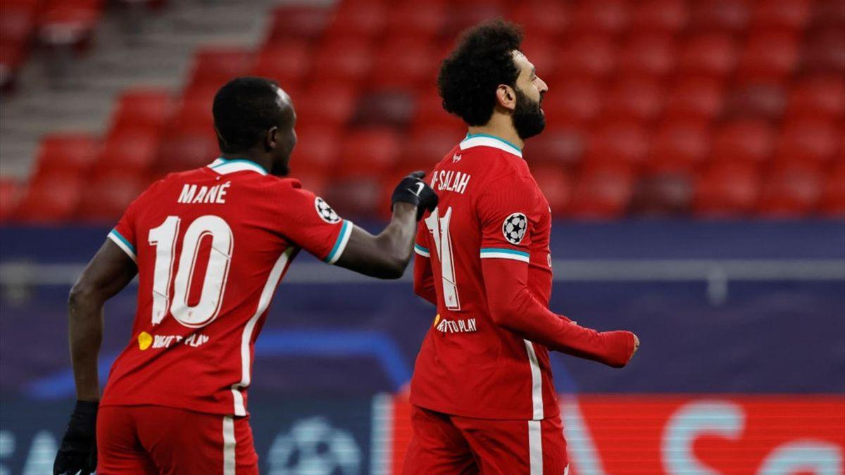 Садио Мане и Мохамед Салах, «Ливерпуль»