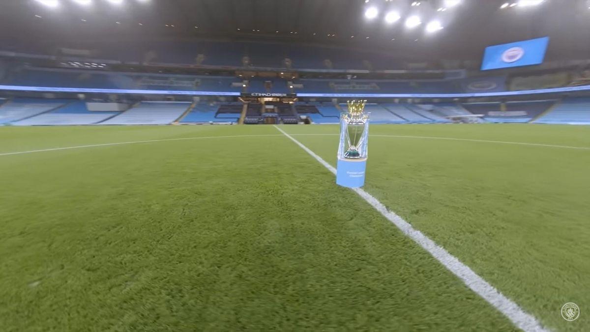 Видео со стадиона «Этихад», снятое одним дублем с квадрокоптера – «Манчестер Сити»