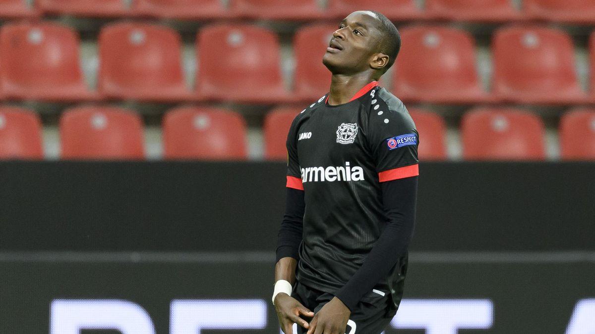 Moussa Diaby von Bayer Leverkusen wurde positiv auf das Coronavirus getestet