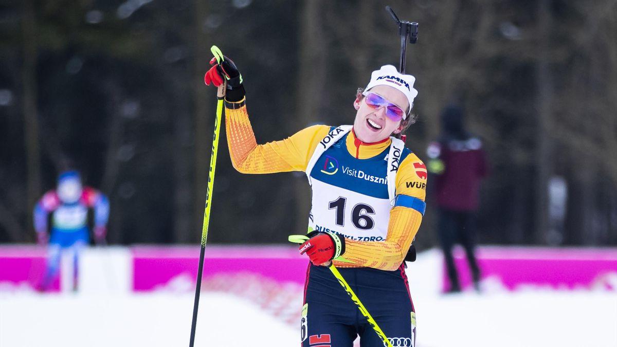 Vanessa Voigt hat die Gesamtwertung im IBU-Cup für sich entschieden