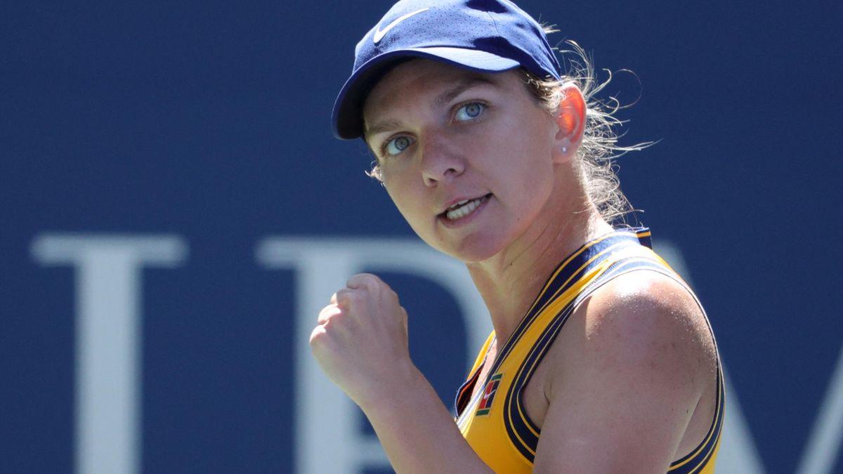 Simona Halep a făcut o partidă mare la US Open, cu Rybakina