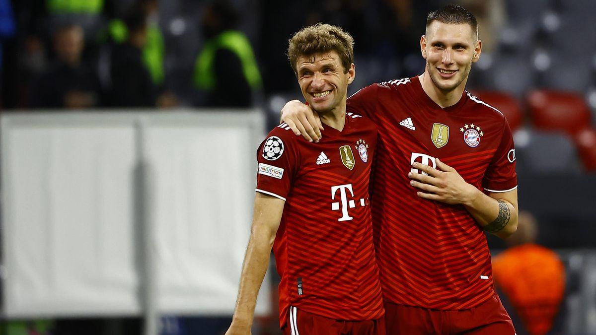 Thomas Müller (links) und Niklas Süle - FC Bayern