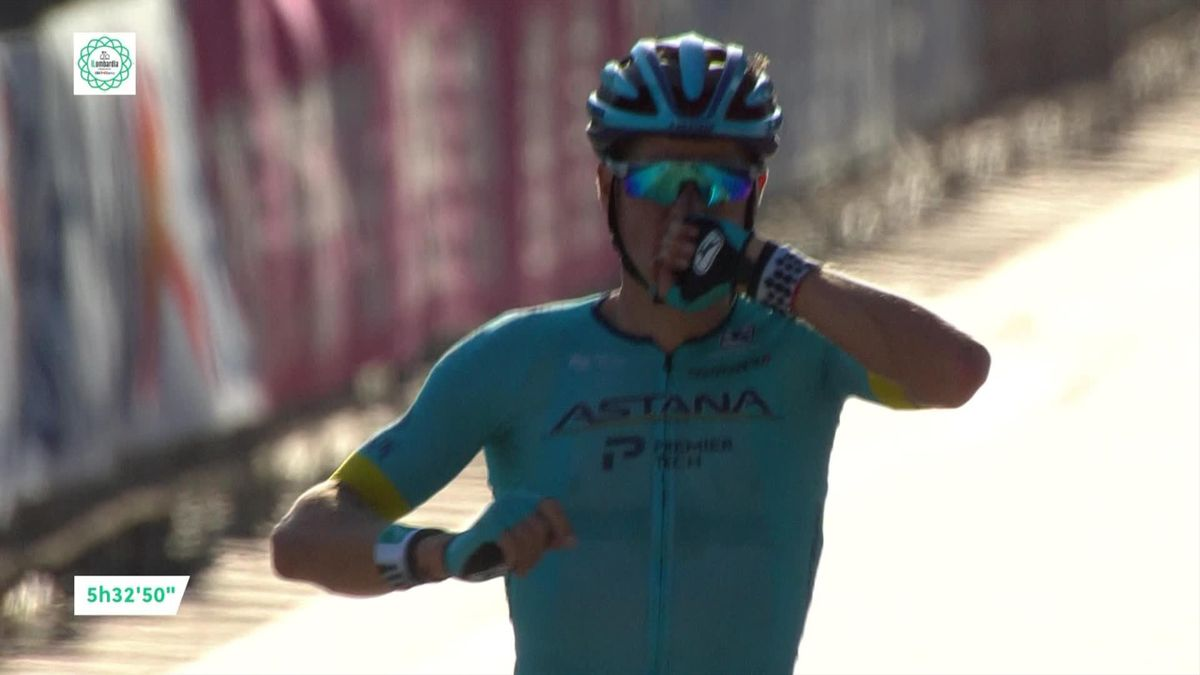 Tour of Lombardy - Finish and victory for Fuglsang