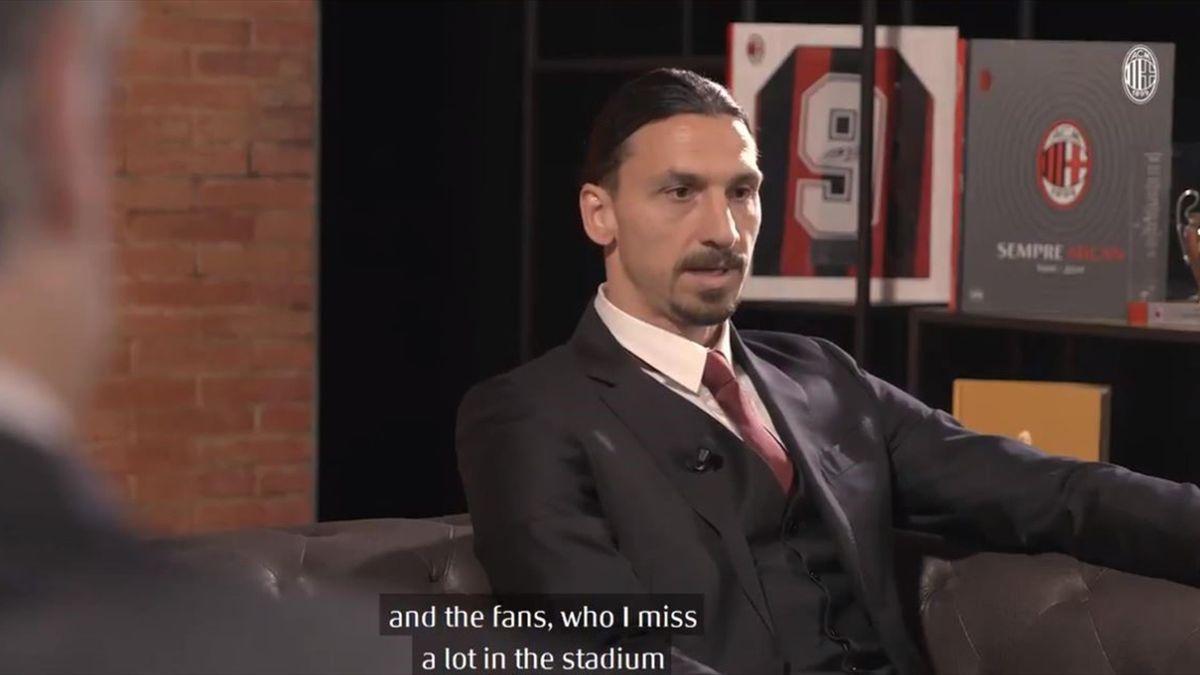 "Milan, Ibrahimovic: ""Se posso restare tutta la vita, resto"""