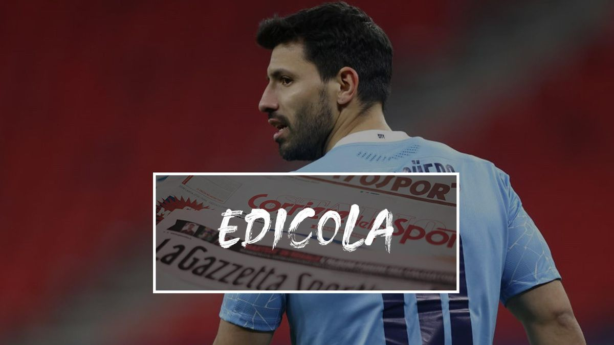 Edicola Aguero, futuro alla Juventus?