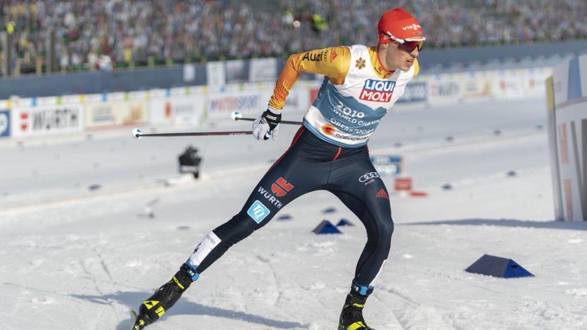Eric Frenzel gewann bei der Nordischen Ski-WM in Oberstdorf zwei Medaillen
