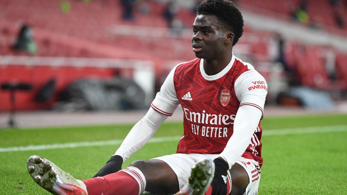 Bukayo Saka | Arsenal v Crystal Palace