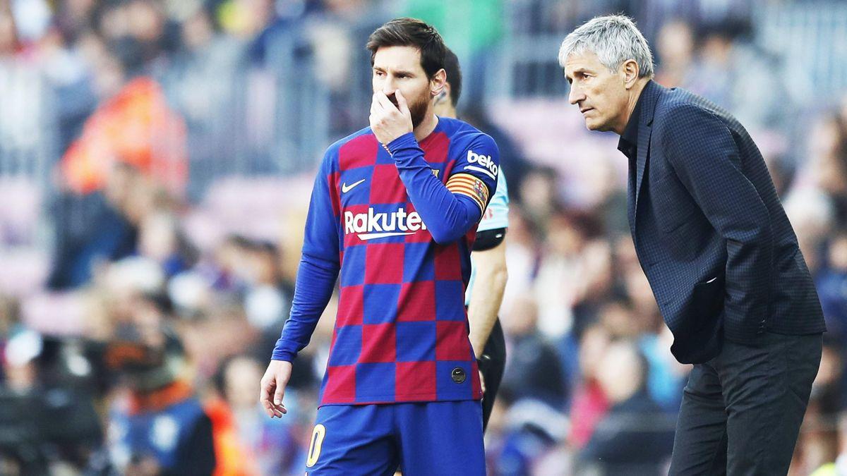 Setien a avut mult de furcă în a gestiona relaţia cu Messi