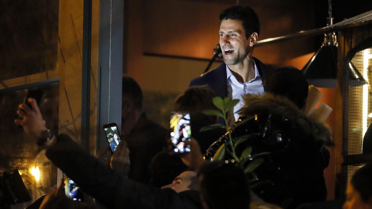 Novak Djokovic lässt sich in Belgrad für seinen neuen Rekord feiern