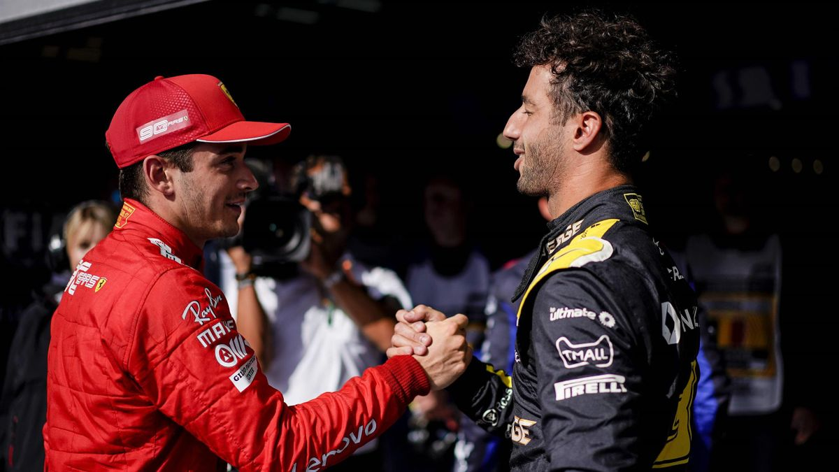 No more hugs for 'hugger' Daniel Ricciardo when F1 returns - Eurosport