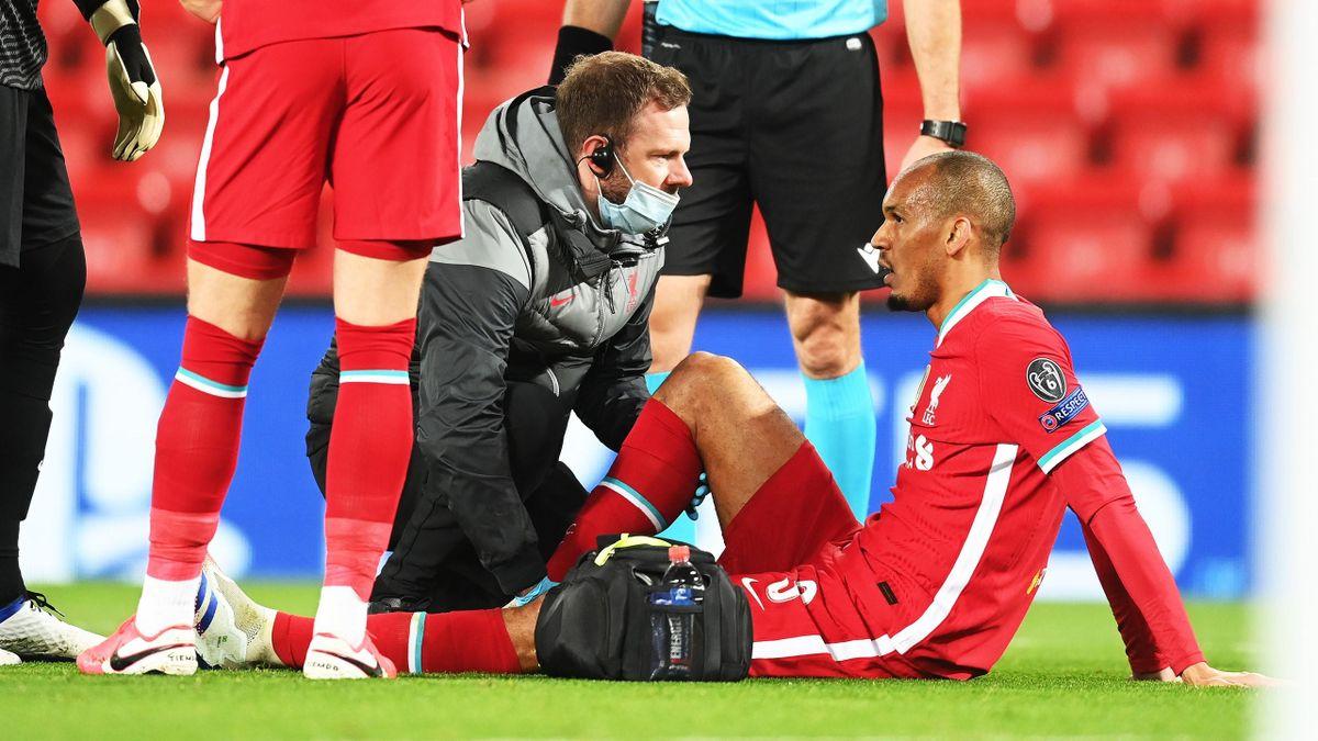 Fabinho s-a accidentat în Champions League