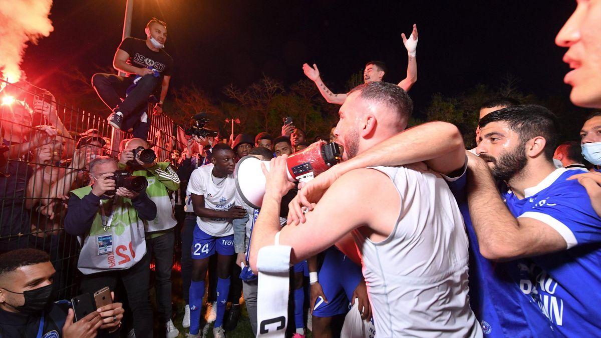 La fête des Troyens, sacrés champions de France de Ligue 2 ce samedi - 08/05/2021