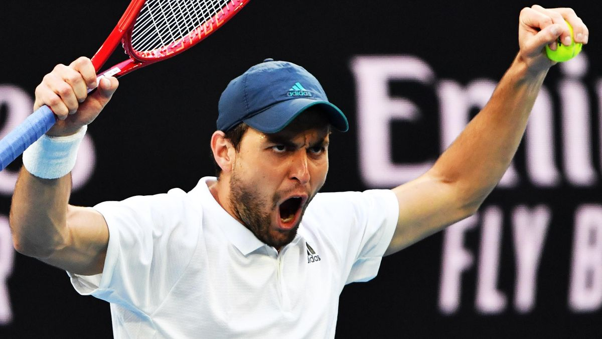 Aslan Karatsev beid en Australian Open