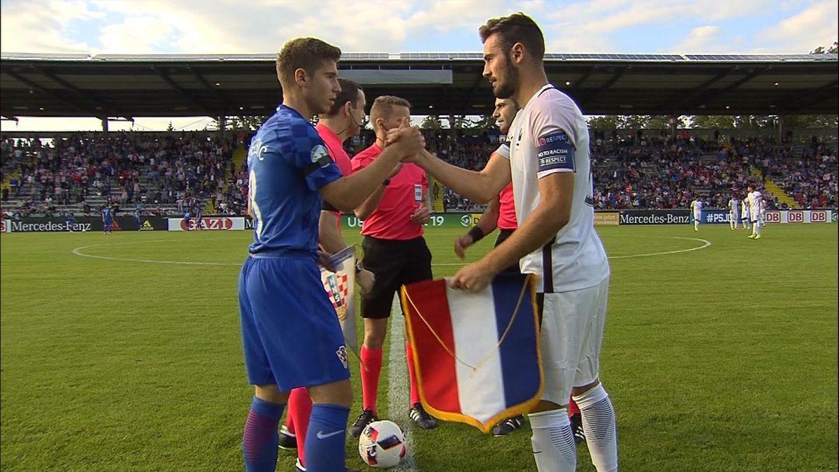 UEFA U19 ECH HLTS - Croatia vs. France