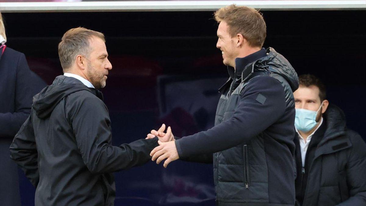Hansi Flick e Julian Nagelsmann, presente e futuro del Bayern Monaco?