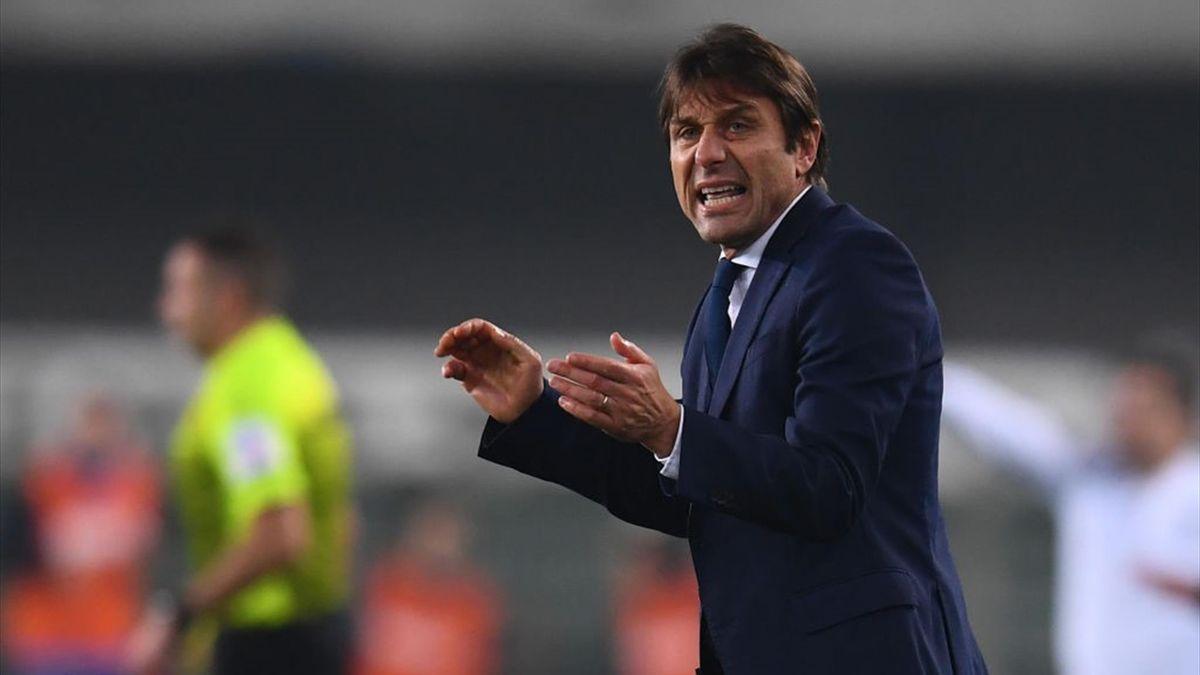 Antonio Conte - Hellas Verona-Inter - Serie A 2020/2021 - Getty Images