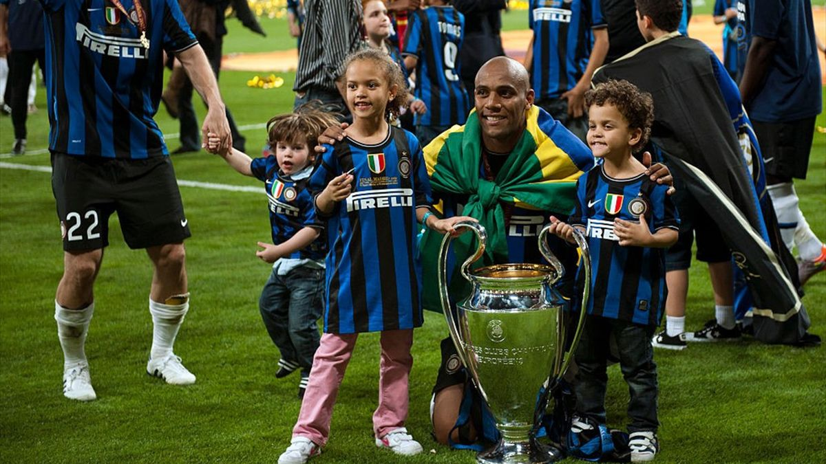 Maicon - Inter-Bayern Monaco - Champions League 2009/2010 - Getty Images