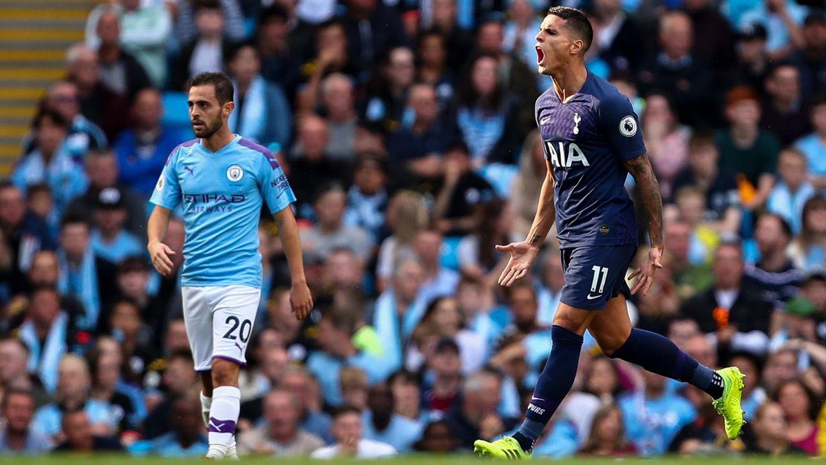 Manchester City gegen Tottenham Hotspur
