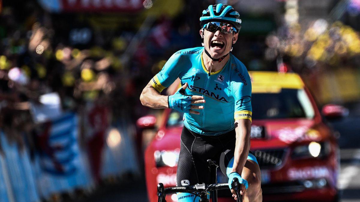 Magnus Cort Nielsen, Astana, ganador de la 15ª etapa del Tour 2018