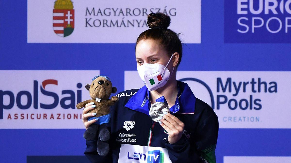Chiara Pellacani medaglia d'argento a Budapest