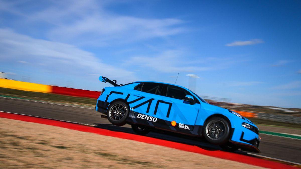 Cyan Racing teszt a Motorland Aragonon