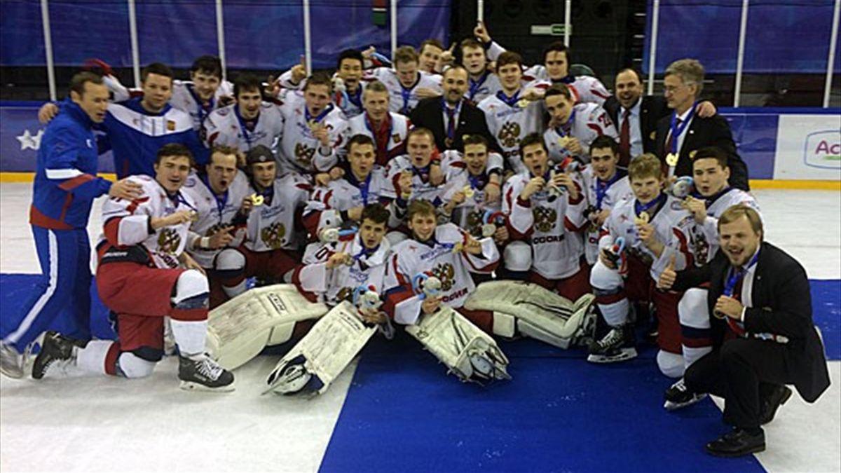 Rusia también ganó el oro en hockey masculino