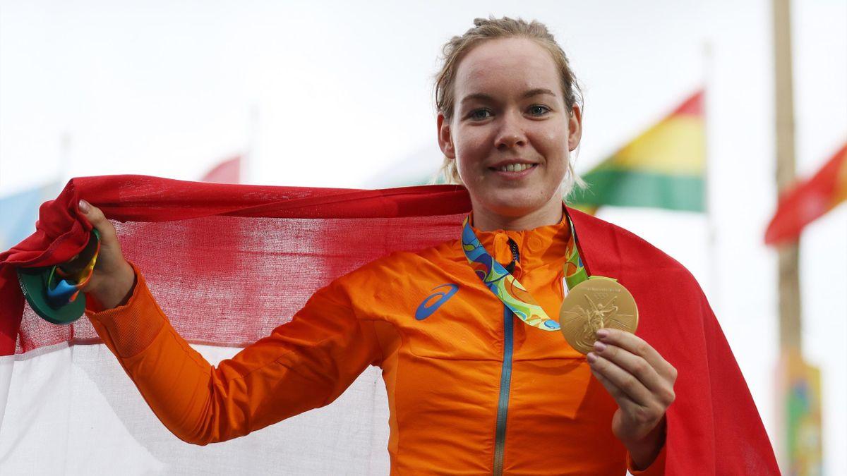 Anna van der Breggen won in Rio goud en is nu opnieuw kanshebber