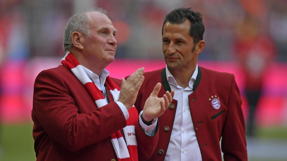 Hasan Salihamidzic und Uli Hoeneß