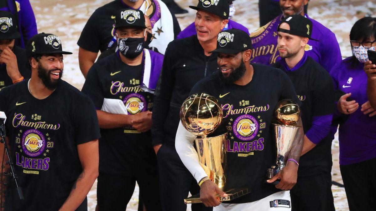 LA Lakers este noua campionă în NBA