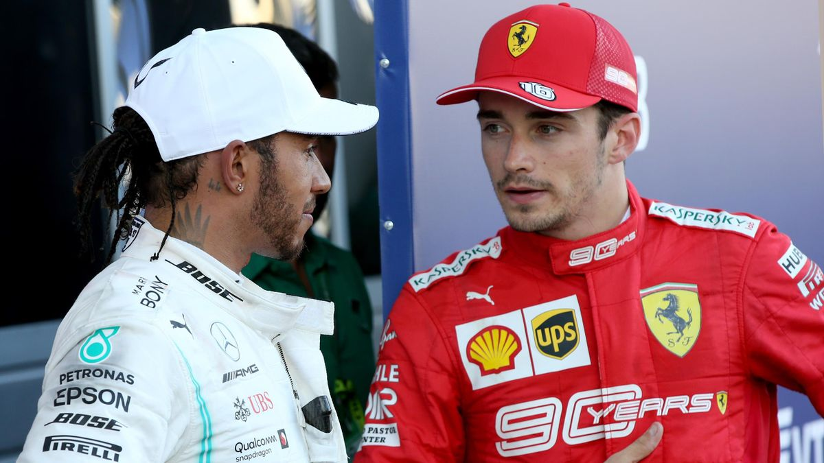 Formel 1 Lewis Hamilton Als Neuer Ferrari Teamkollege Das Sagt Charles Leclerc Eurosport