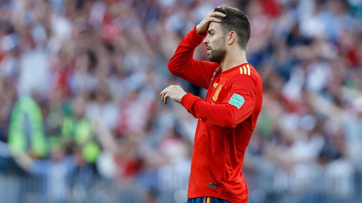 Piqué - Russia-Spain - 2018 Russia FIFA World Cup - Imago