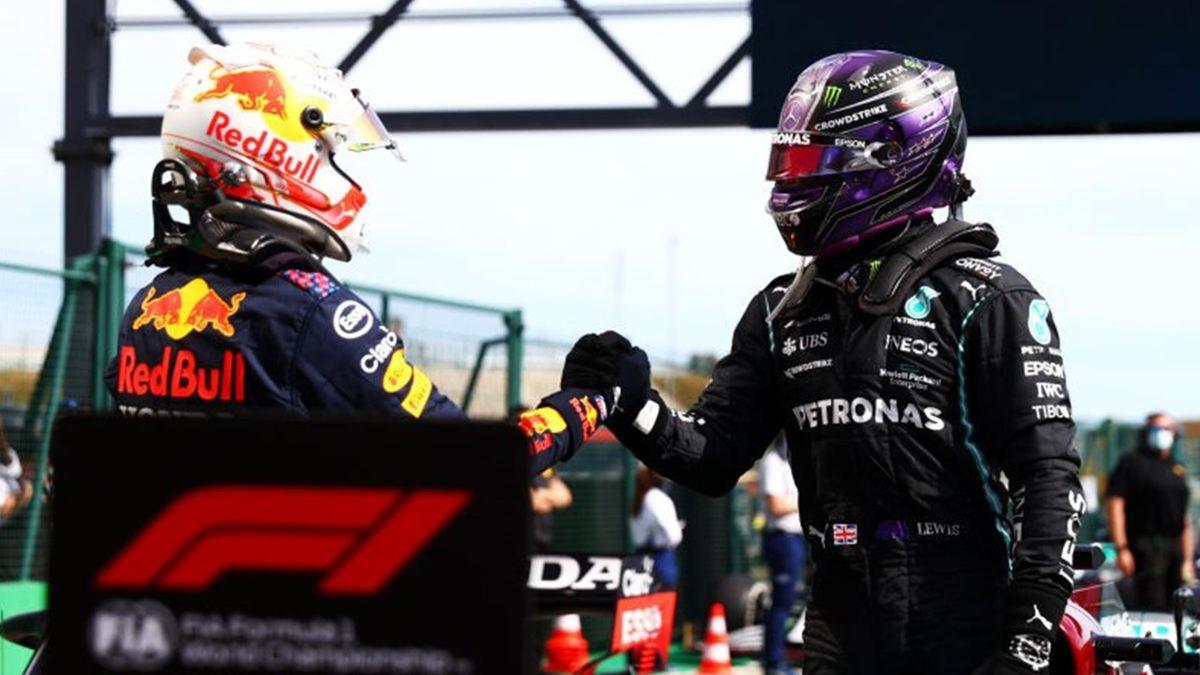 Max Verstappen (Red Bull) et  au Grand Prix du Portugal 2021