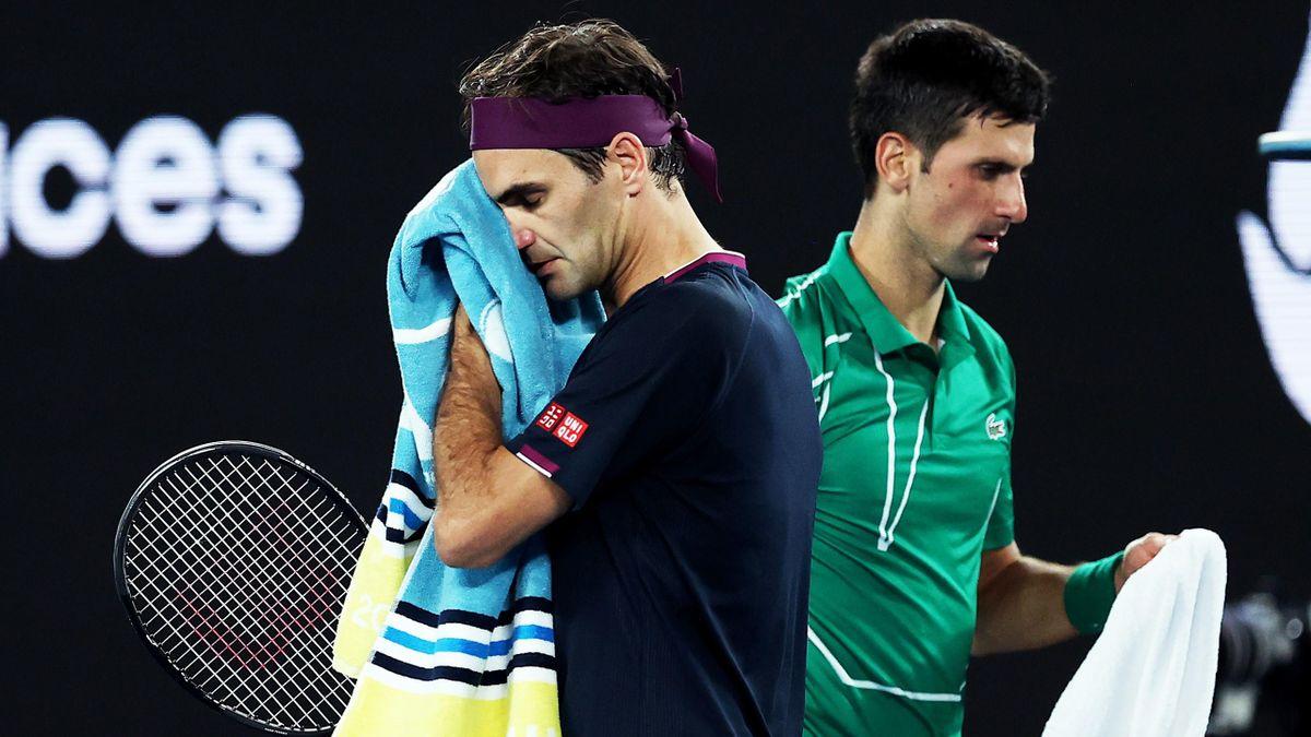 Roger Federer és Novak Djokovic