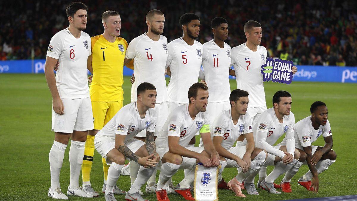 England National Team - UEFA Nations League 2018