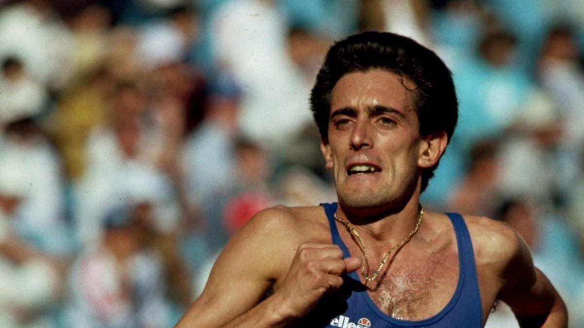 Salvatore Antibo nella finale dei 10mila metri alle Olimpiadi di Seoul 198
