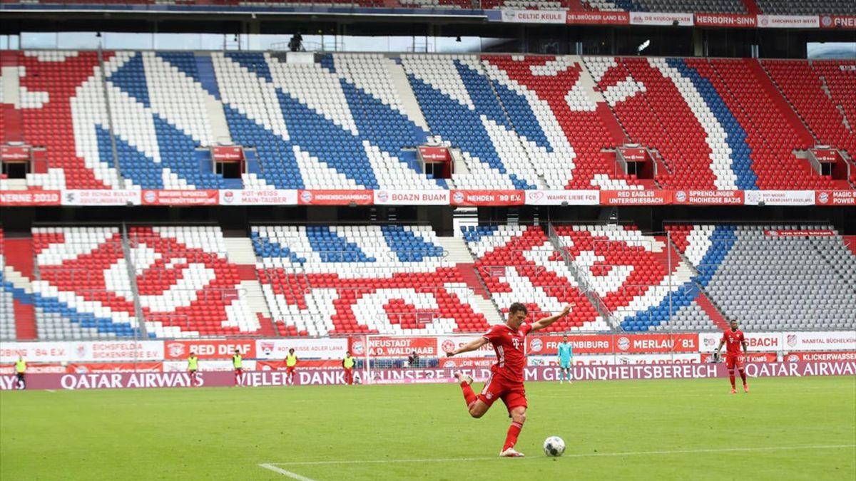 Dem FC Bayern droht auch zum Bundesliga-Auftakt gegen den FC Schalke 04 ein Geisterspiel