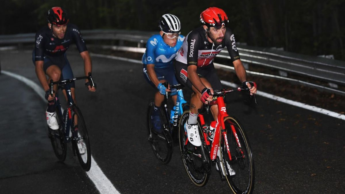 De Gendt, Rubio, Ganna - Giro d'Italia, stage 5 - Getty Images