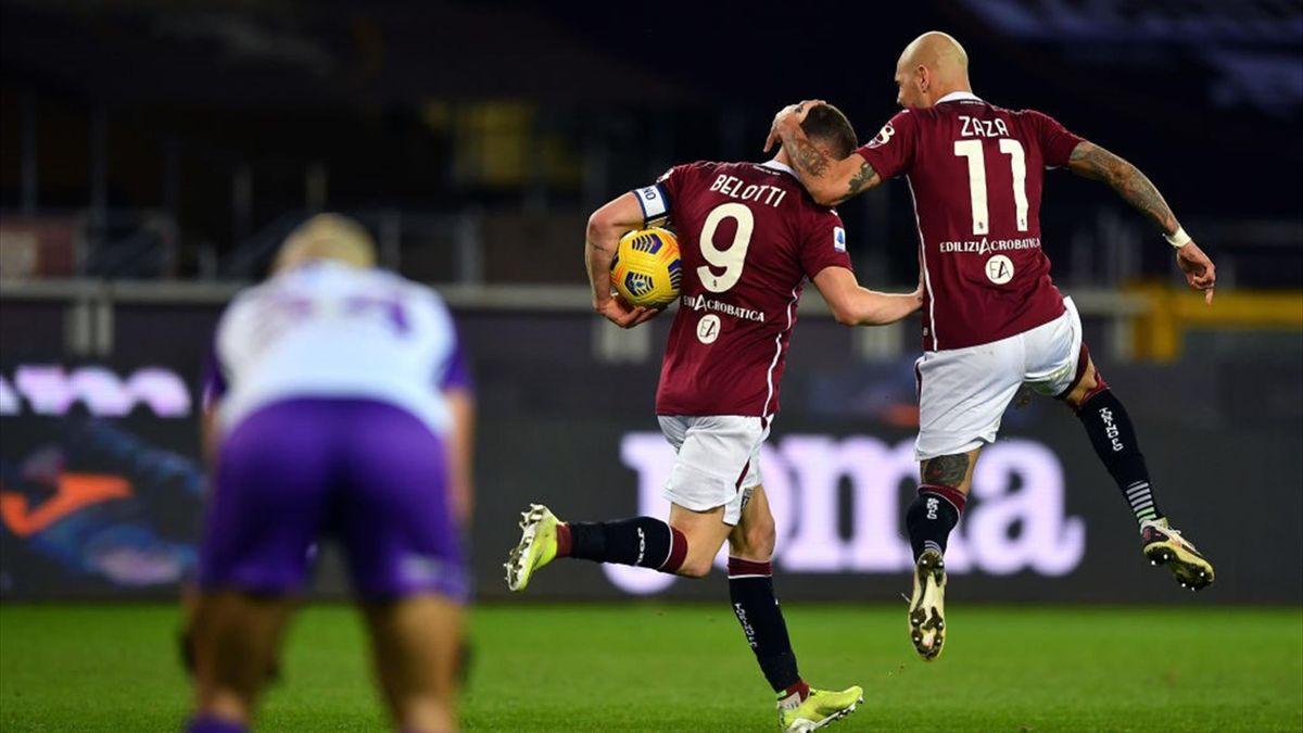 Belotti, Zaza - Torino-Fiorentina - Serie A 2020/2021 - Getty Images