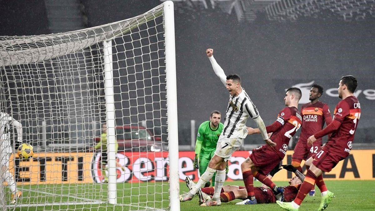 L'autorete di Ibanez - Juventus-Roma Serie A 2020-21