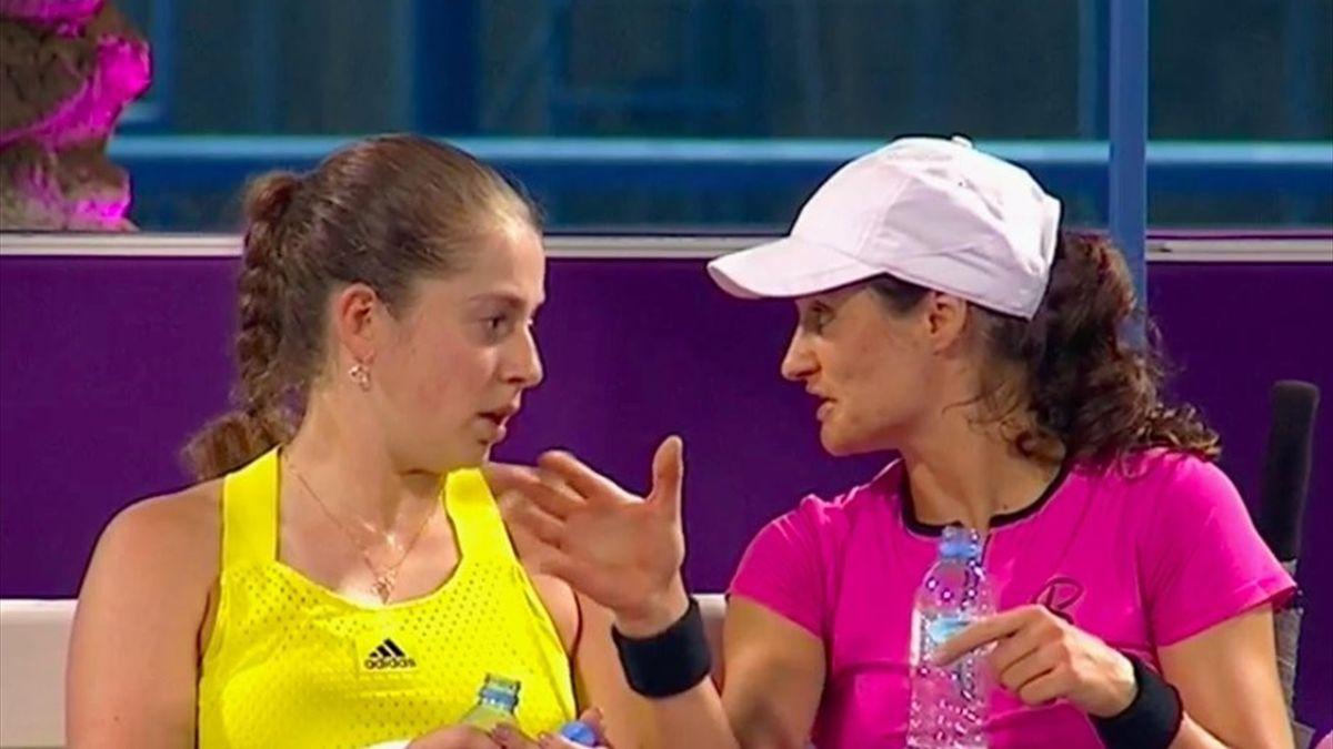 Jelena Ostapenko & Monica Niculescu