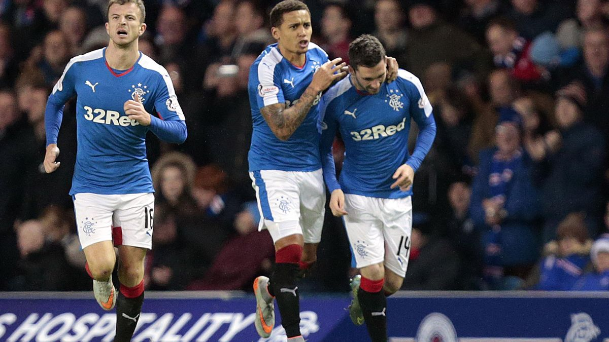 Nicky Clark settled victory for Rangers at Rugby Park.