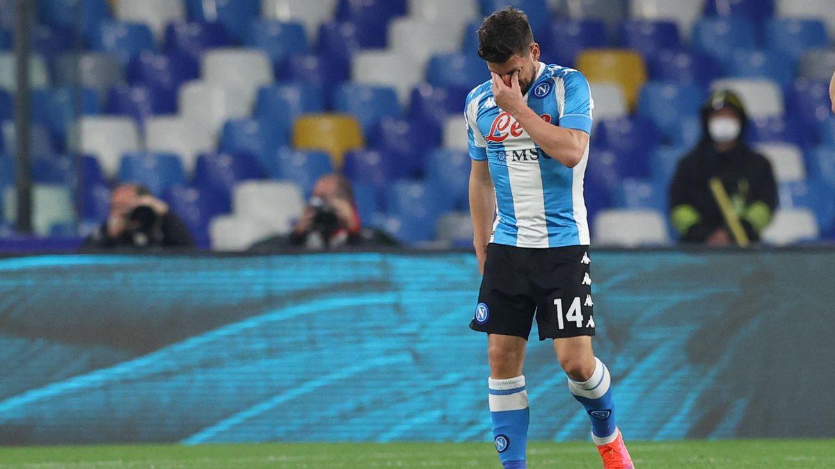 Dries Mertens - Napoli-Lazio - Serie A 2020-2021