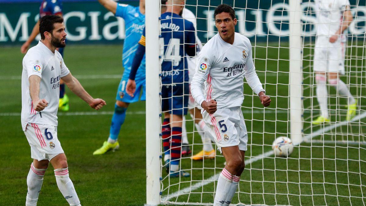 Raphaël Varane avec le Real Madrid, 2020